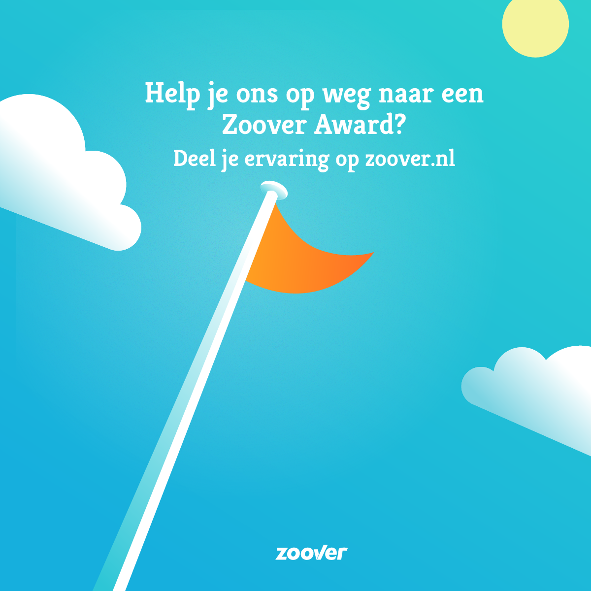 Zoover Awards - Vlag